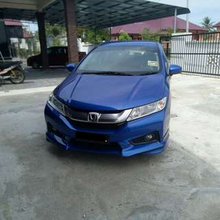 2014 HONDA CITY 1.5 V Full Spec Modulo Body Kit