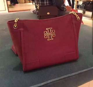 PREORDER Tory Burch Bag Britten Small Slouchy