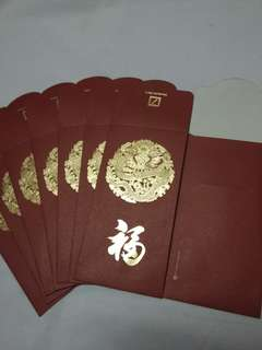 8 pcs *Deutsche* Dragon Red Packet / Ang Pow / Hong Bao / Ang Pao