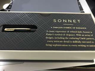 PARKER SONNET Fountain Pen