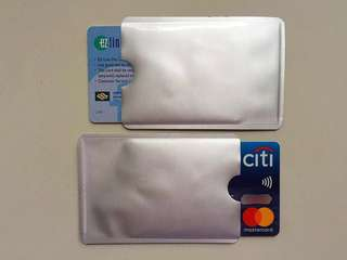 🚚 Anti RFID scanning card sleeves (for PayWave, Flashpay credit cards)