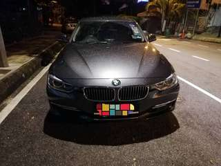 BMW 320I Nov 2014 (BSRI until Nov 2019)