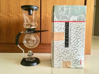🚚 Hario NCA-5 虹吸壺 賽風壺 咖啡壺 AL-5P 噴射酒精燈 絕版品