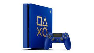 Ps4 slim Days of Play limited edition