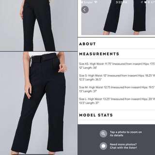 Can nego Preloved thetinselrack tux pants