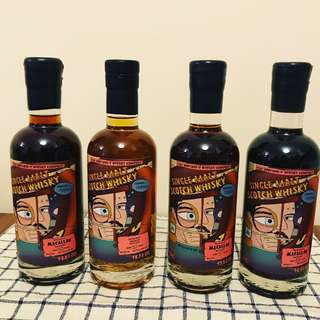 That Boutique-y Whisky Company Macallan Aged 25, 26, 29 and 30