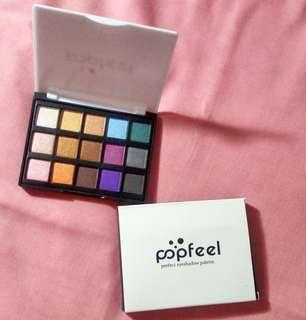 Popfeel Eyeshadow 15 Warna Seri 2
