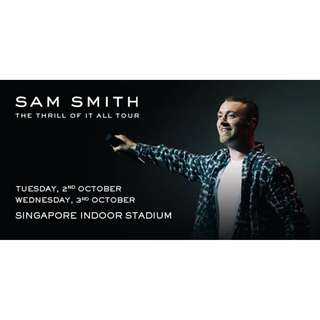 Sam Smith in Singapore