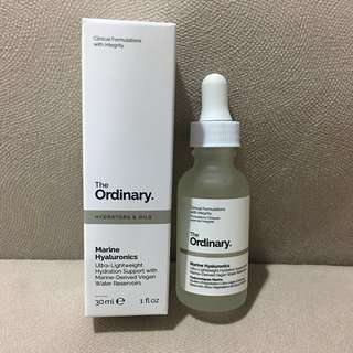 [NEW ARRIVAL] The Ordinary Marine Hyaluronics