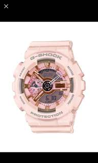 櫻花粉紅 G-Shock GMA-S110MP-4A1