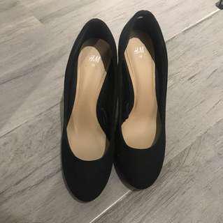 H&M 高踭鞋
