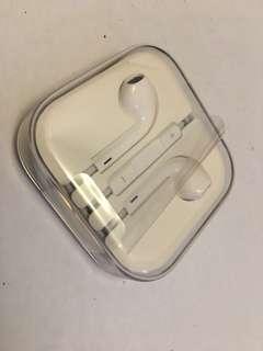 iPhone 原裝耳機3.5mm全新