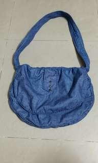 牛仔布袋(高32cm.寬40cm)