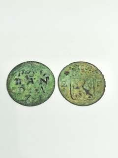 SINGAPORE MERCHANT TOKENS TWO STIVERS 1791 (IMITATION)