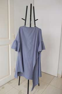 Brand New Loose Oversize Dress in Grey