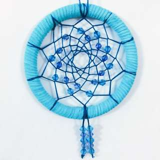 Brilliant Blue Dreamcatcher