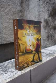 Percy Jackson & The Olympians : The Battle of the Labyrinth by Rick Riordan