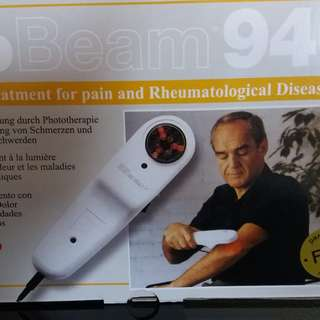 SYRO BioBeam 940  寶光紅外線痛症治療器 940  二手90%新 (有盒及包裝)