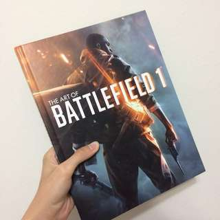 The Art of Battlefield 1 Book