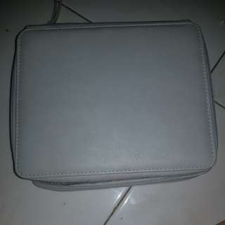 Kotak pensil / pencilcase 120 slot warna grey or abu
