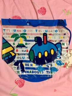 Sanrio The Runabouts 透明 袋 沙灘袋 索袋