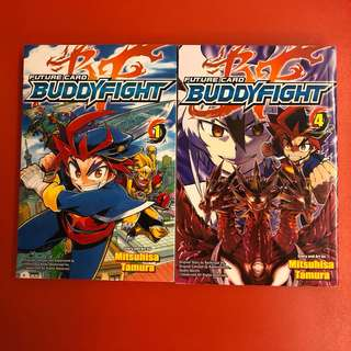 Like new Future Card Buddy Fight Comics - Issues 1 & 4