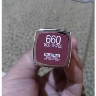 Maybelline Touch of Spice (Creamy Matte)