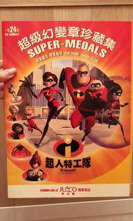 The Incredibles Super Medals Collection