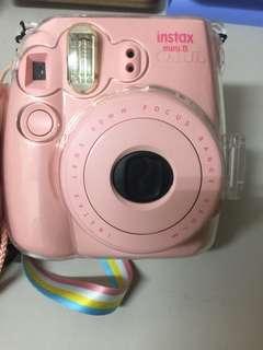 粉紅色拍立得