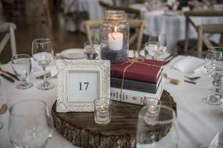Picture Frame Table Numbers (Wedding)
