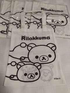 🚚 Each Rilakkuma tote