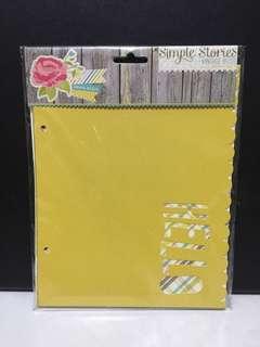 Simple Stories Vintage Bliss Scrapbook Album