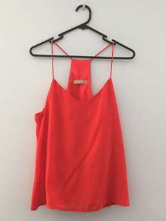 Red Cami Size 14