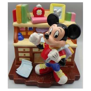 1996 Mickey Mouse ceramic coin bank  限量版 陶瓷錢箱