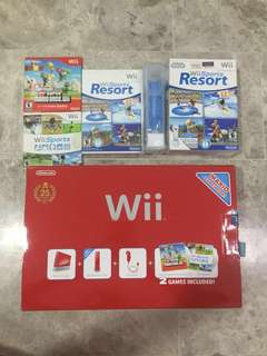 Nintendo Wii Super Mario Red Limited Edition