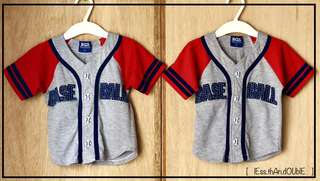 Sport (Baseball) Shirts for Male Twins