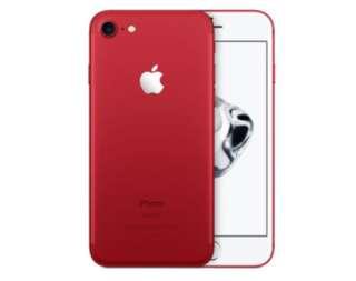 大量全新iPhone 7 128gb (絶版紅色)