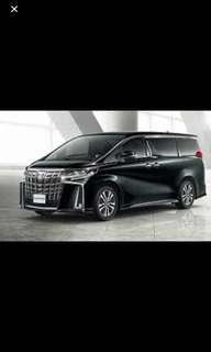 For rent 2018 Brand new Alphard and E class year 2011