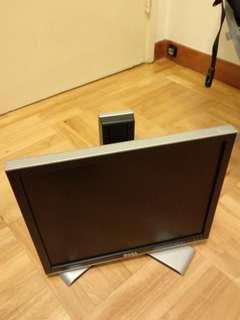 電腦 Monitor 顯示屏 Dell 17吋