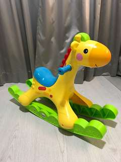 Fisher Price Rocking Giraffe with music and lights