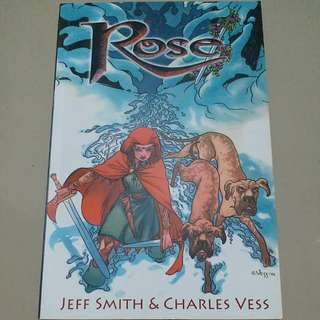 Novel Grafis: Rose