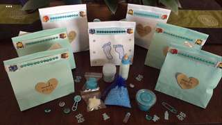 Bath products in mini sample size for special occasions