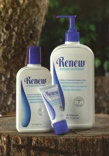 Renew Body Wash and intensive skin therapy