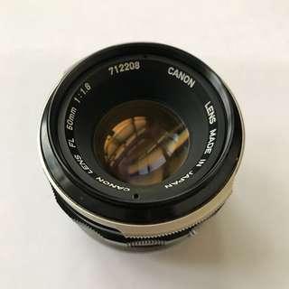 🚚 Canon LENS FL 50mm鏡頭