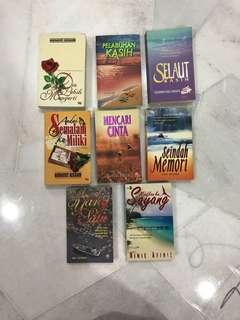 Novel Melayu - 3 for RM 22