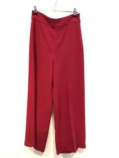 Zara Cropped Wideleg Trousers