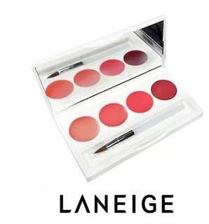 Laneige Serum Intense Lipstick 4 Colours Lip Palette