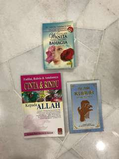 Islamic Book - 3 for RM 22
