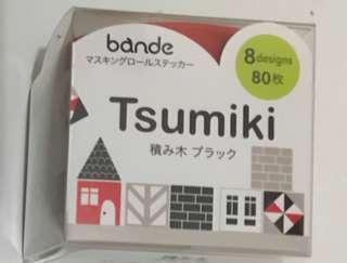 Bande 紙膠帶 貼紙 積木