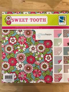 Clearance-BN Printed Paper Stack - Sweet Tooth